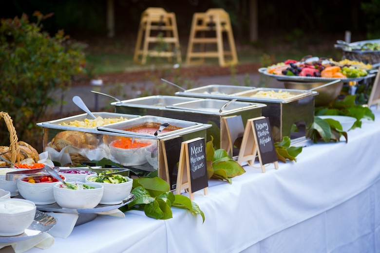 The Lowdown On Wedding Catering and Serve Yourself Food Stations